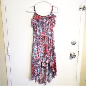 Justice Girls Skirted Romper Dress